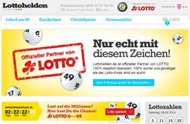 Mit Lottohelden Lotto spielen